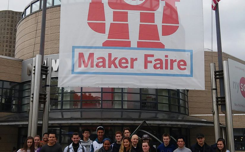 NYC Maker Faire with Drew students